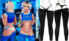 Spoiled - Lewdy Gamer Leggings + Panties Black