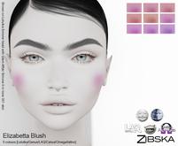 Zibska ~ Elizabetta Blush in 9 colors with Lelutka, Genus, LAQ, Catwa and Omega appliers and system tattoo BOM layers