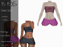 B BOS - Ember Outfit - Patterns Pink (Add me)