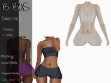 B BOS - Ember Outfit - Patterns White (Add me)