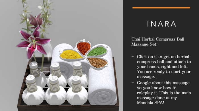 [ID] Thai Herbal Compress Ball Massage Set