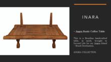 [ID] Angra rustic coffee table