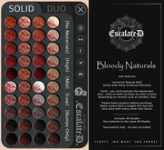 .EscalateD. Bloody Naturals Demo HUD