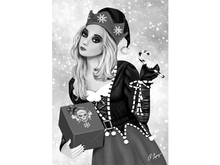 Candi - Stylized Female Elf Wall Art Canvas