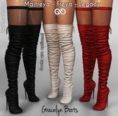 FashionNatic - Gracelyn Boots Fatpack - Maitreya, Lara Petite, Belleza Freya, Legacy