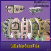 [MC]  BRDMRT Griffin Retro Spike Collar[wear to unpack]