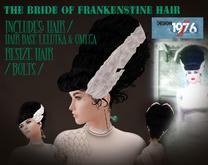 D76- Frankensteins Bride Hair