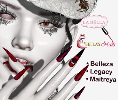 LaBella Elka Vamp Nails Belleza Legacy Maitreya