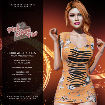 !PCP :: Ruby Dress [Witchy Pack]