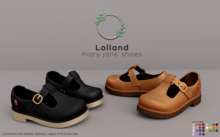 Ohemo - Lolland maryjane shoes - FATPACK (add me)