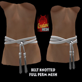 BELT KNOTTED FULL PERM MESH