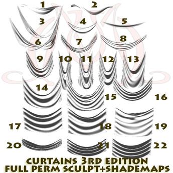 Curtains 3th edition FULL PERM SCULPT+SHADEMAPS