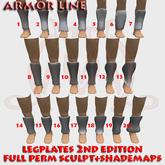 Legplates 2nd edition FULL PERM SCULPT+SHADEMAPS