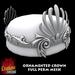 Ornamented Crown FULL PERM MESH