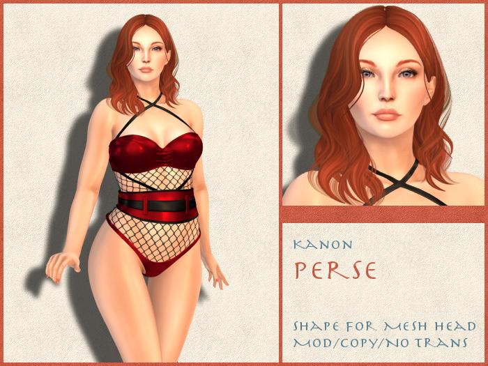Kanon Female Shape - Perse - For LOGO Chelsea