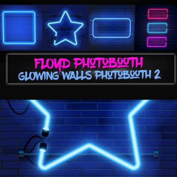 .:F L O Y D:.Glowing Walls Photobooth 2