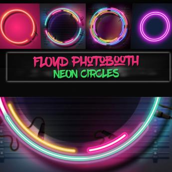 .:F L O Y D:.Neon Circles Photobooth