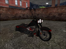 NIGHTFIRE SLEDS ROAD KING CRATED