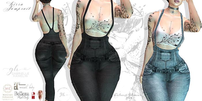 ♥ {GH} ♥ Kirra Jumpsuit Fatpack