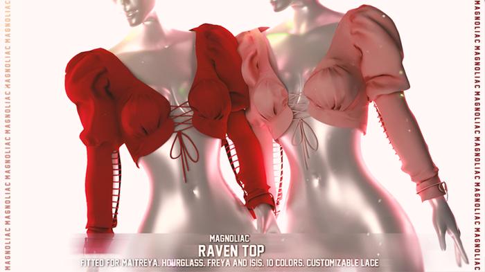 Magnoliac - Raven Top (Discount)