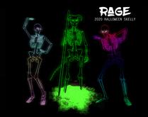 Rage: 2020 Halloween Skelly Cel Shader Avatar