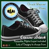 R(S)W Chucks - Classic Black