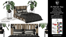 .:YN:. Pallet bed MUSE - ADULT & PG