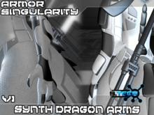 Synth Dragon Arms - Singularity Arm Armor