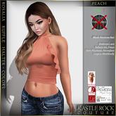 :KR: Rosalia Top - Colors - Peach (Add Me)