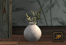 6. Nutmeg. Charming Zen Potted Olive Branches