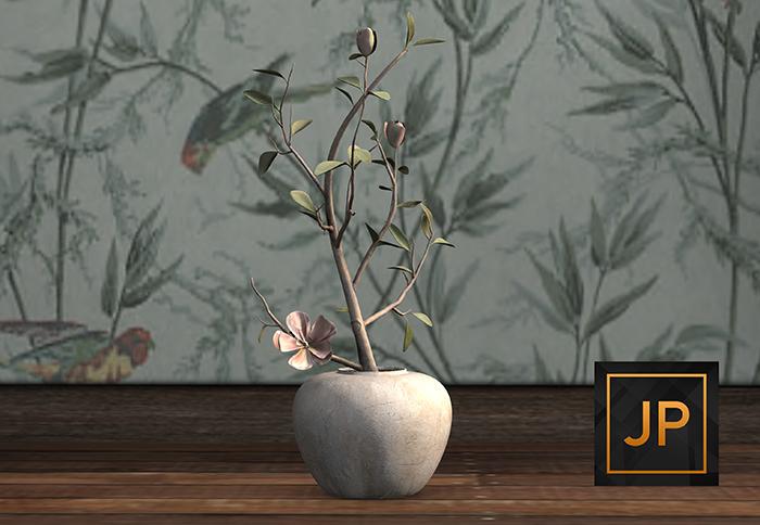 5. Nutmeg. Charming Zen Potted Flowering Tree