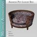 Medhue Animesh Luxury Pet Bed / PinkShells