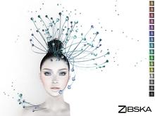 Zibska ~ Aestas Color Change Headpiece and Shoulder Accent