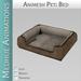 Medhue Animesh Pet Beds / Tan