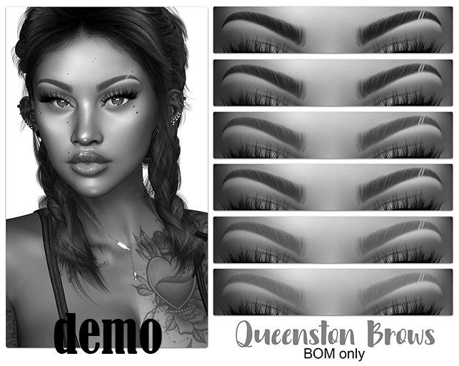 .:the-HAUS:. Queenston BOM Eyebrows (Genus) DEMO