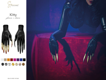 S&P Kitty gloves & claws (wear to unpack)