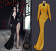 DEAD DOLL - Tish Gown - Yellow
