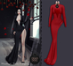 DEAD DOLL - Tish Gown - Red