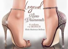 LEGEND - NINA DIAMOND HEELS