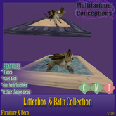[MC]  Litterboxes and Baths [wear to unpack]