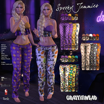 Graffitiwear Spooky Jammies DEMO
