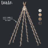 tarte. fairy light tipi GIFT