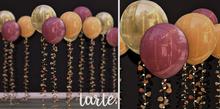 tarte. autumn garden balloons