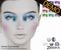 Zibska ~ Astraia Eyemakeup Demos [lelutka/genus/laq/catwa/omega/tattoo]