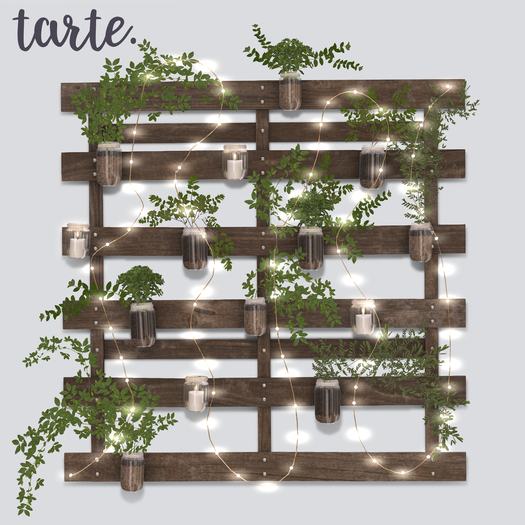 tarte. pallet planter (walnut)
