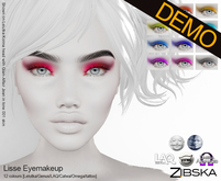 Zibska ~ Lisse Eyemakeup Demos [lelutka/genus/laq/catwa/omega/tattoo]