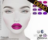 Zibska ~ Priska Lips Demos [lelutka/genus/laq/catwa/omega/tattoo]