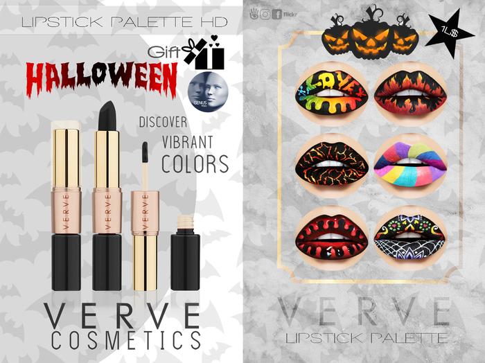 VERVE - Halloween - Lipstick Palette GIFT/GENUS