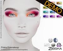Zibska ~ Priska Eyemakeup Demos [lelutka/genus/laq/catwa/omega/tattoo]