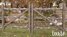tarte. split rail fence kit